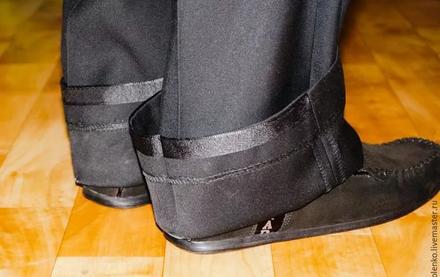 Как правильно подшивать классические мужские брюки