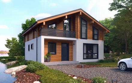 Как построить дом за один день: революционный метод ФПК «Аист»